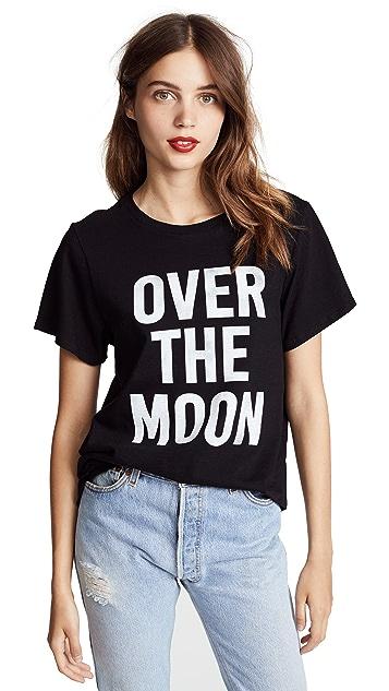 Cinq a Sept Tous Les Jours Over the Moon Tee