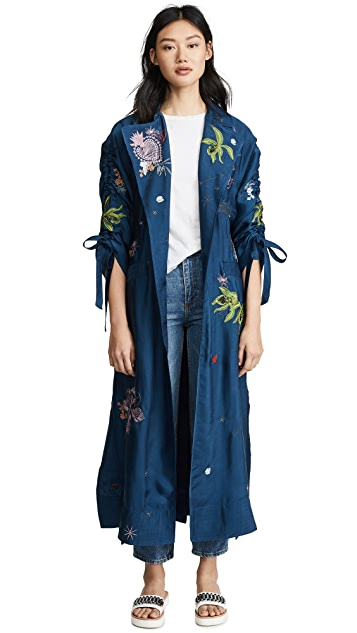 Cinq a Sept Embroidered Aziza Jacket