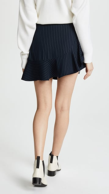 Cinq a Sept Pinstripe Luella Skirt