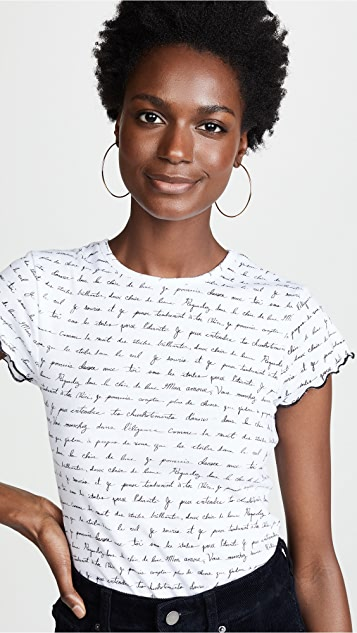 Cinq a Sept Tous Les Jours Printed Colbey Tee