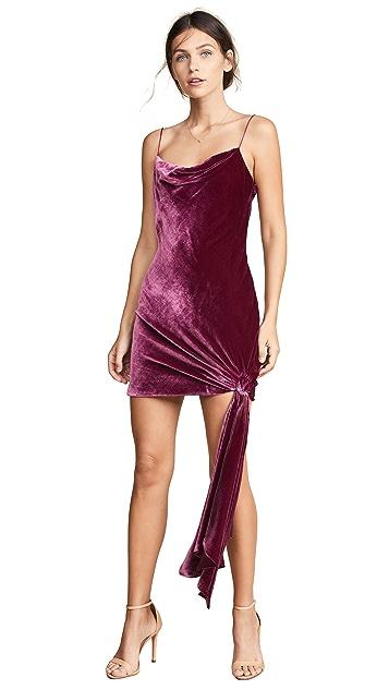 Cinq a Sept Бархатное платье Ryder