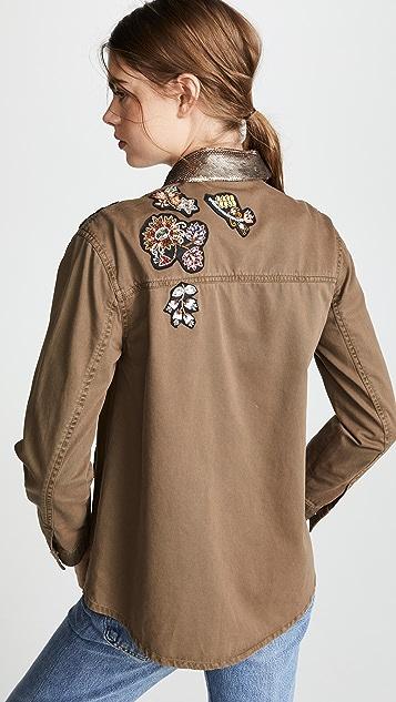 Cinq a Sept Sequin Canyon Jacket