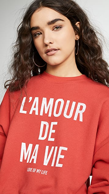 Cinq a Sept Tous Les Jours Love Of My Life Pullover