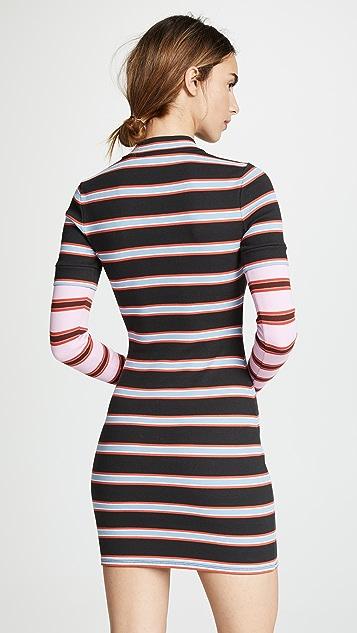 Cinq a Sept Платье Tous Les Jours Zaria с длинными рукавами