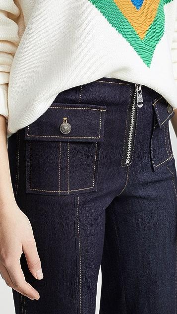 Cinq a Sept Tous Les Jours Azure Pants