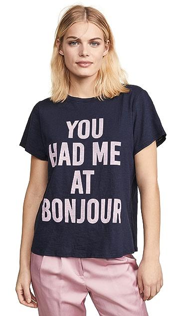 Cinq a Sept Футболка You Had Me at Bonjour