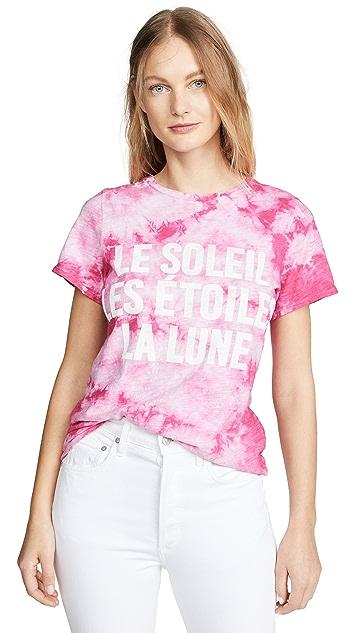 Cinq a Sept Tie Dye Celestial T-Shirt
