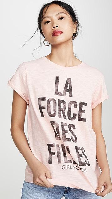 Cinq a Sept Tous Les Jours Girl Power Tee