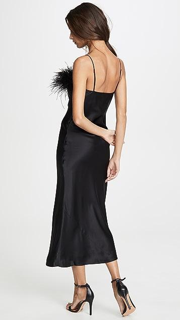 Cinq a Sept Cerise Dress