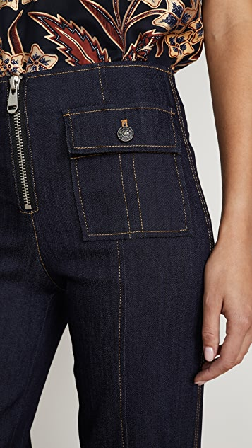 Cinq a Sept Azure 长裤