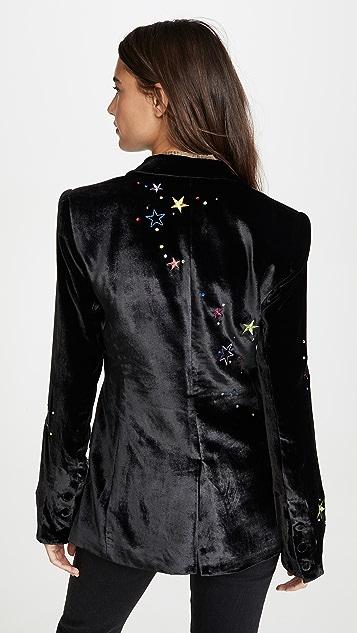 Cinq a Sept Velvet Starlight Estelle 西装外套