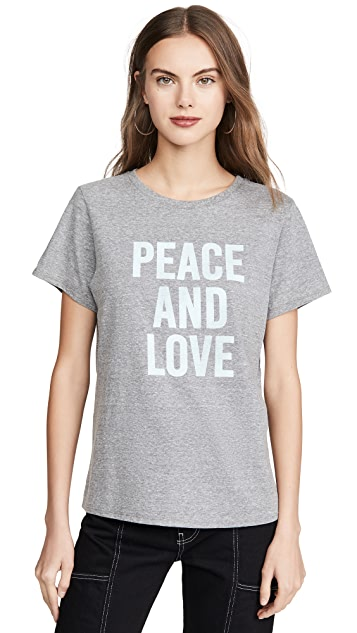 Cinq a Sept Футболка Tous Les Jours Peace and Love