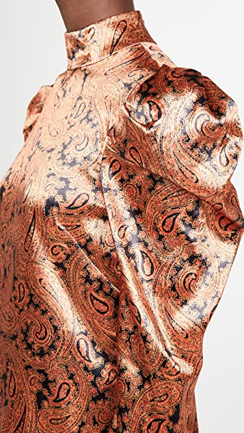 Cinq a Sept Paisley Karen Dress