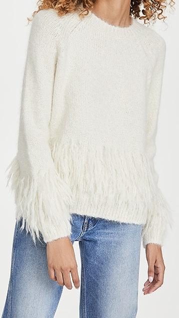 Cinq a Sept Izabella Alpaca Sweater