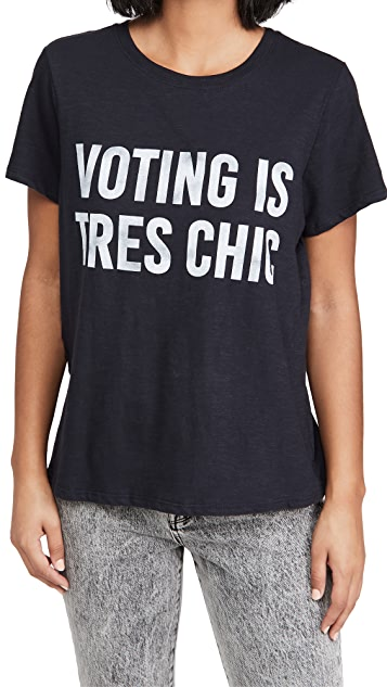 Cinq a Sept Voting is Tres Chic T 恤