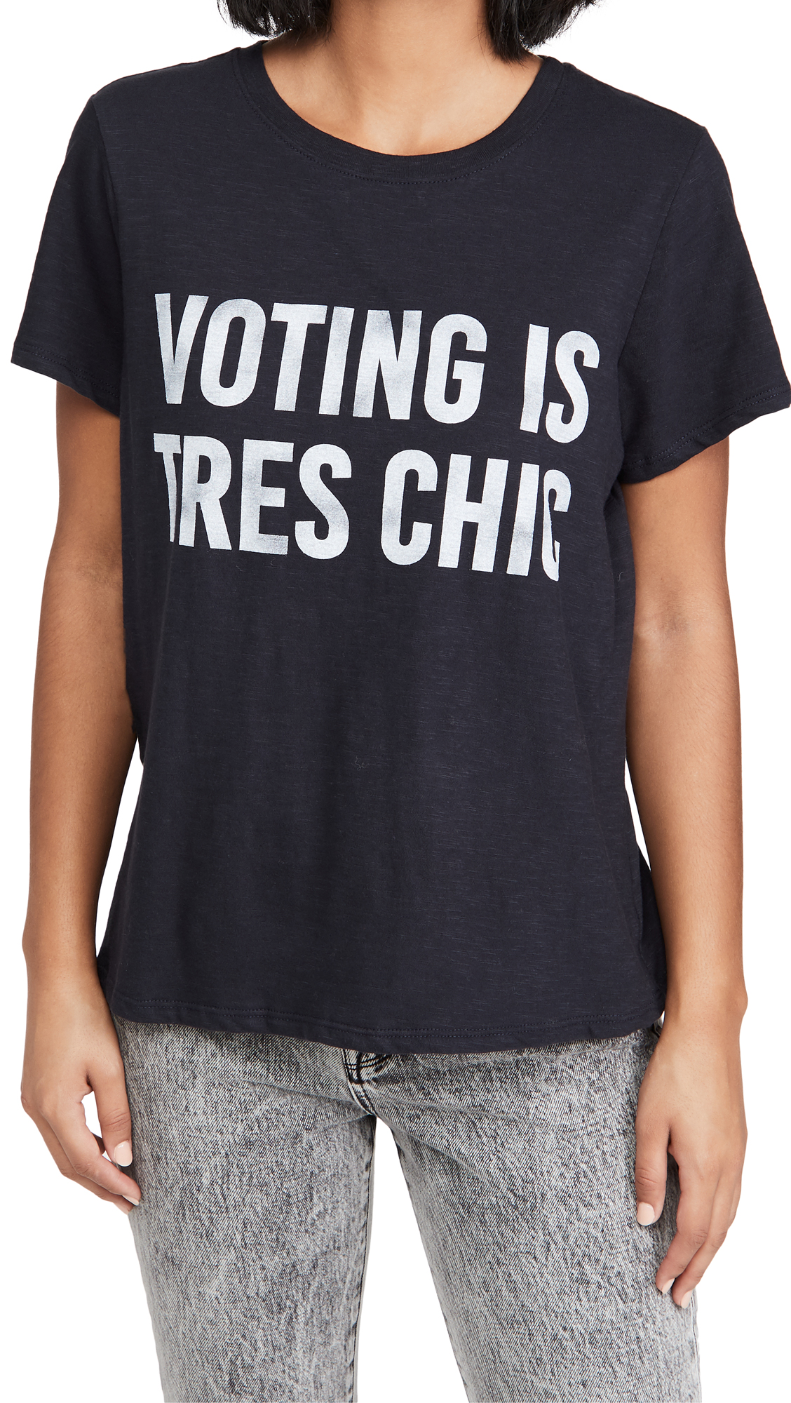 Cinq a Sept Voting is Tres Chic Tee