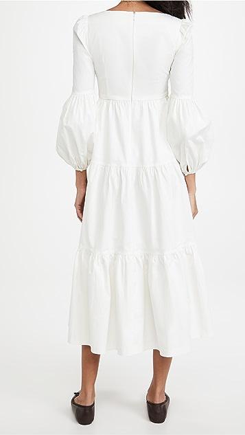 Cinq a Sept Midi Rose Dress