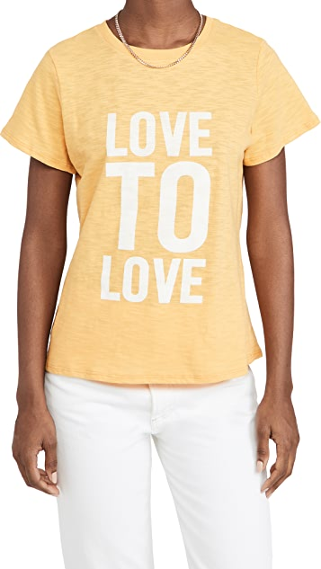 Cinq a Sept Love To Love Tee