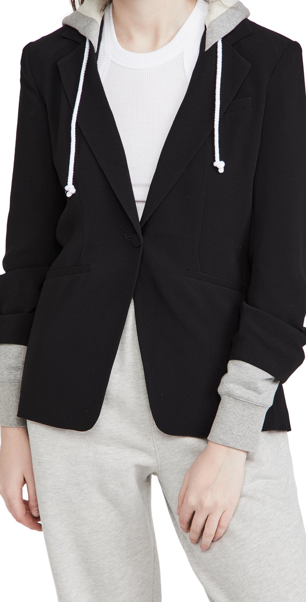 Cinq a Sept Hooded Khloe Jacket