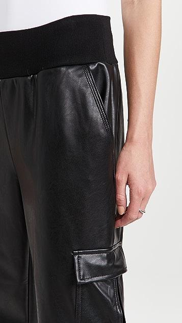 Cinq a Sept Faux Leather Giles Pants