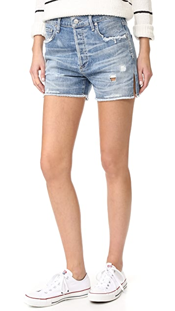 Citizens of Humanity Corey Relaxed Shorts - Skylite