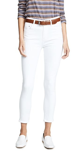 Citizens of Humanity Rocket Sculpt Crop Jeans - White