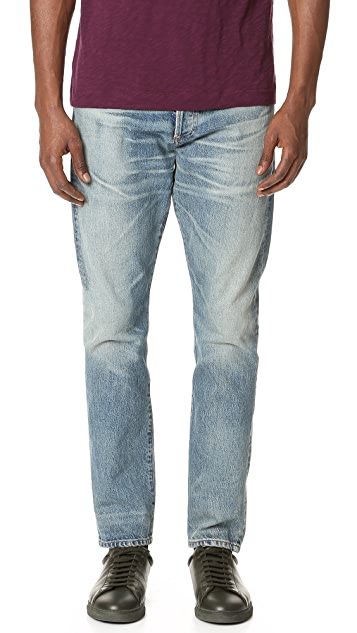 Jeans Rowan Relaxed Slim grey-blue Citizens Of Humanity 0CwSV6l