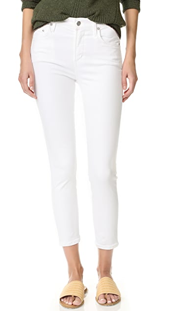 Citizens of Humanity Rocket Crop High Rise Skinny Jeans
