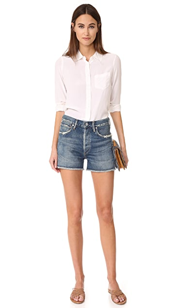 Citizens of Humanity Alyx Classic High Rise Shorts