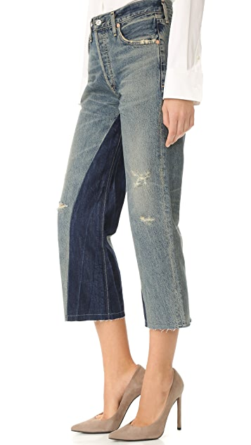 Citizens of Humanity Cora Crop Shadow Inseam Jeans