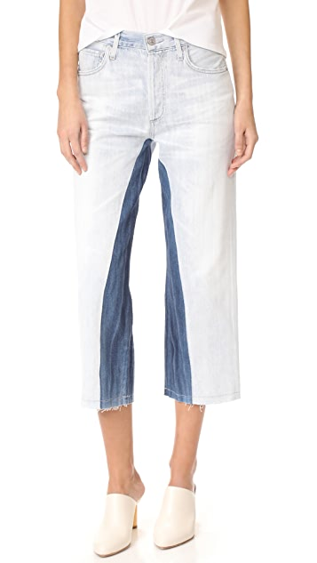 Citizens of Humanity Cora Crop Shadow Inseam Jeans - Surfside