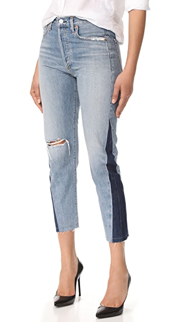 Citizens of Humanity Liya Shadow Side Seam Jeans