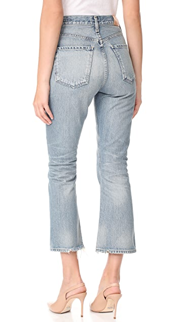 Citizens of Humanity Estella High Rise Ankle Fray Jeans