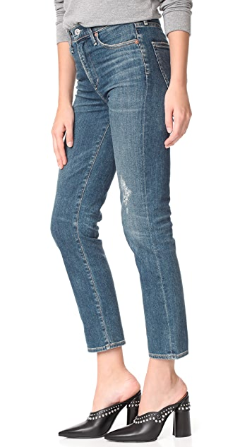 Citizens of Humanity The Cara Ankle Cigarette Jeans