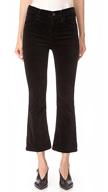 Citizens of Humanity Velvet Drew Crop Jeans