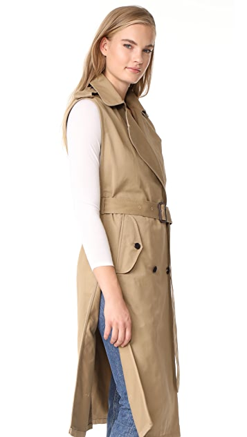 Citizens of Humanity Sleeveless Trench
