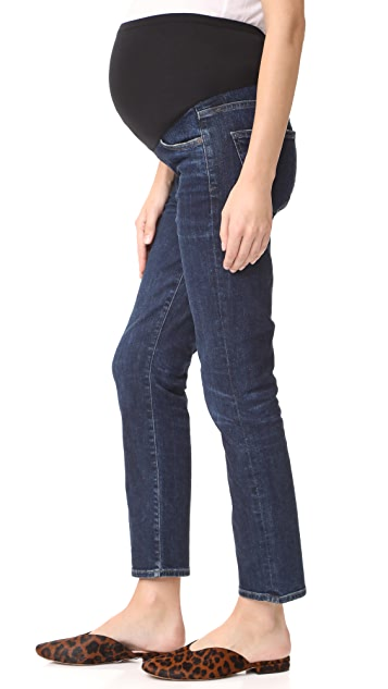 Citizens of Humanity Cara Cigarette Ankle Maternity Jeans