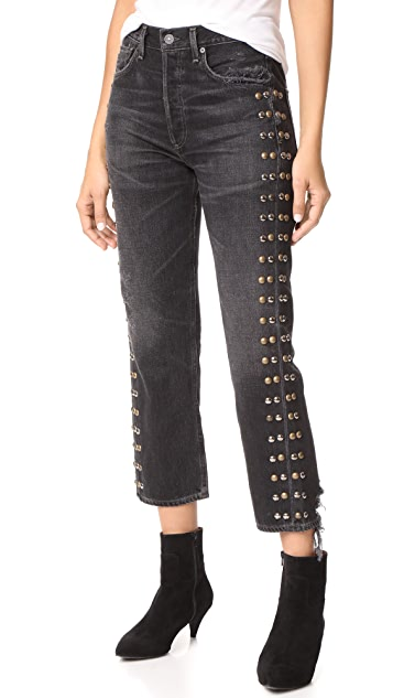 Citizens of Humanity Gia Studded Jeans