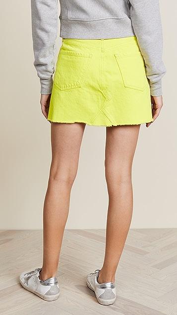 Citizens of Humanity Cutoff Miniskirt