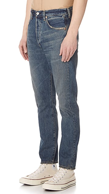 Citizens of Humanity PV Rowan Relaxed Jeans with Slim Fit