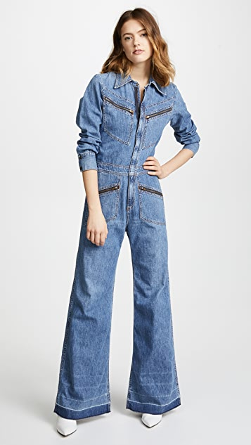 Citizens of Humanity Farrah '70s Jumpsuit