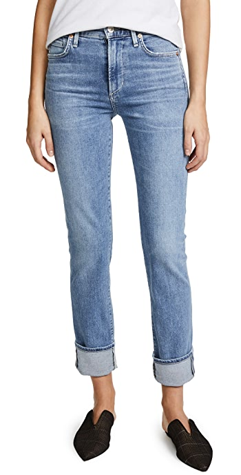 Citizens of Humanity Cara High Rise Cigarette Jeans - Firestone