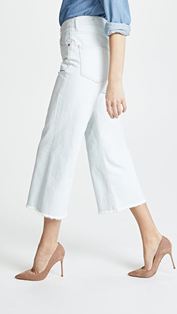 Citizens of Humanity Emma Wide Leg Crop Pants