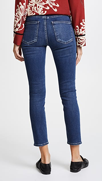 Citizens of Humanity Rocket Sculpt High Rise Crop Skinny Jeans