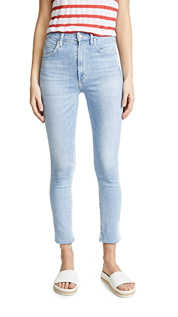 Citizens of Humanity Chrissy Ankle High Rise Jeans