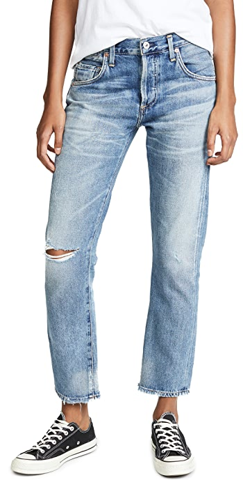Citizens of Humanity Emerson Slim Fit Boyfriend Jeans - Haven