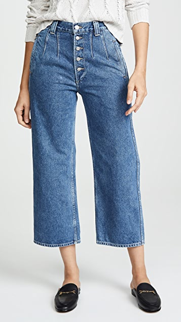 b03576cb913 Citizens of Humanity Halsey Wide Leg Crop Jeans ...