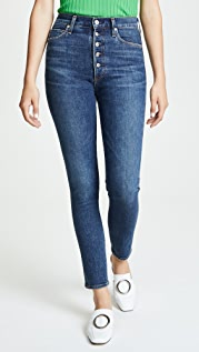Citizens of Humanity Olivia Exposed Fly High Rise Jeans