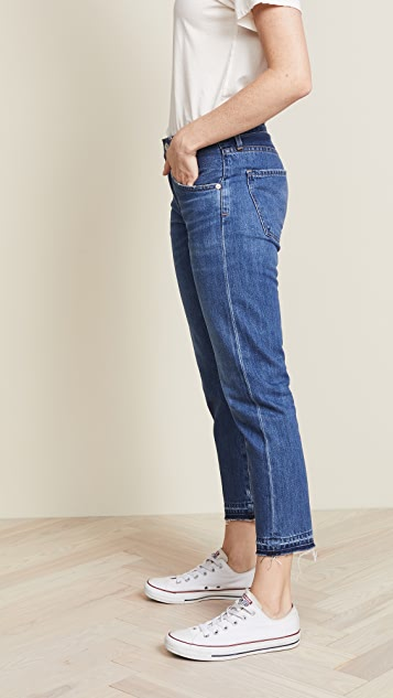 Citizens of Humanity Emerson Crop Slim Fit Boyfriend Jeans