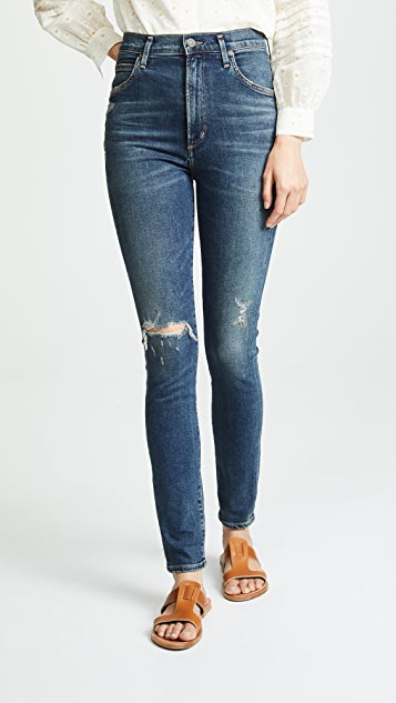 Citizens of Humanity Chrissy Uber High Rise Skinny Jeans